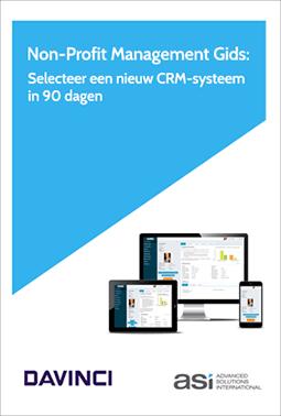 Non-Profit Management Gids: Selecteer een nieuw CRM-systeem in 90 dagen