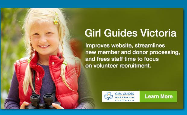 Girl Guides Victoria Success with iMIS