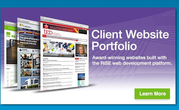 See Award-Winning iMIS Websites in the iMIS Website Portfolio