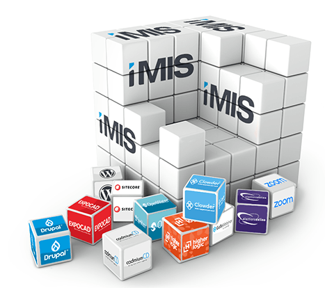 iMIS Membership and Fundraising Database Software integrates easily with many major platforms