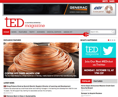 tED Magazine by National Association of Electrical Distributors