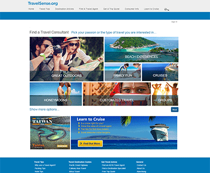 American Society of Travel Agents powers their website with iMIS CMS