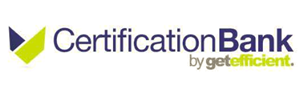 Certification Bank by Get Efficient