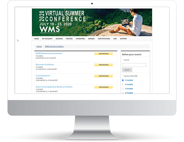 iMIS Virtual Conference Software