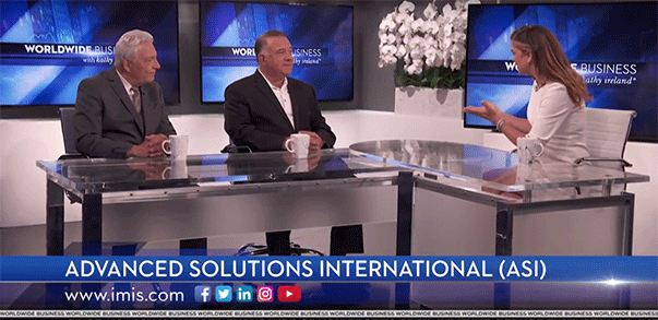 Watch ASI Interviewed about iMIS on Worldwide Business by Kathy Ireland